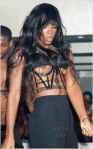 Kelly Rowland Wardrobe Malfunction during performance