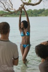 Oluchi Onweagba, poses on location on St. John, in the Virgin Islands for Sports Illustrated's Swimsuit 2008 edition.