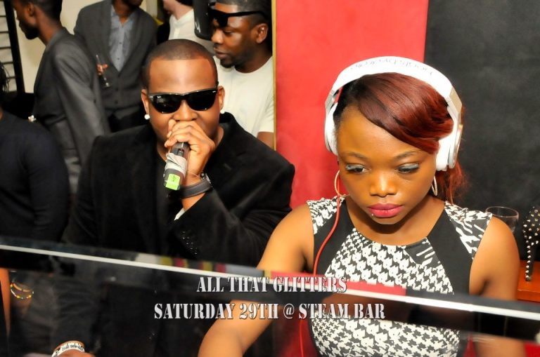 DJ CYNTHIA MVP and TEE ALI ARABMONEY